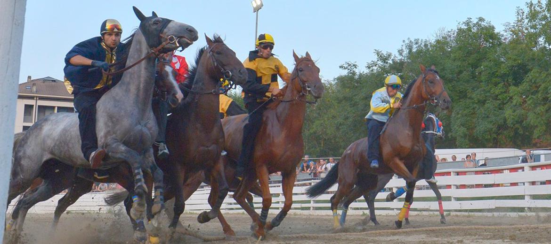 La corsa dei cavalli